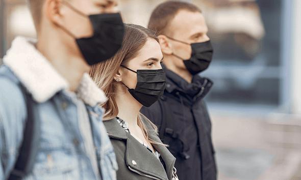 Gesichtsmasken haben negative Auswirkungen auf CO2- und O2-Werte